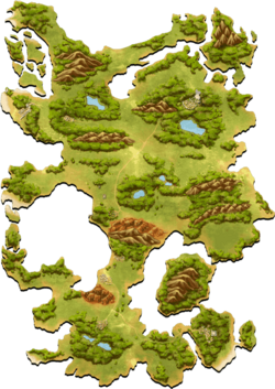 Greed Island Map (battle collection ver.)