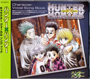 Hunter x hunter Character vocal song book