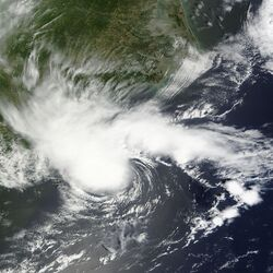 Tropical Storm Alberto May 19 2012