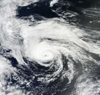 Hurricane Chris Jun 21 2012 Terra