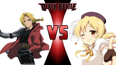 Fullmetal Alchiemeist vs the yellow haired magical girl