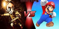 Toon Link VS Mario