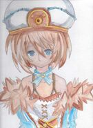 Blanc fan art colored by kingofanime7-d5kbpi3