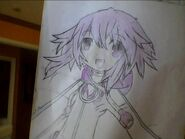 My attempt to draw neptune by flappyflap456789-d5r93v5
