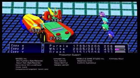 Hyperdimension Neptunia Victory ending credits