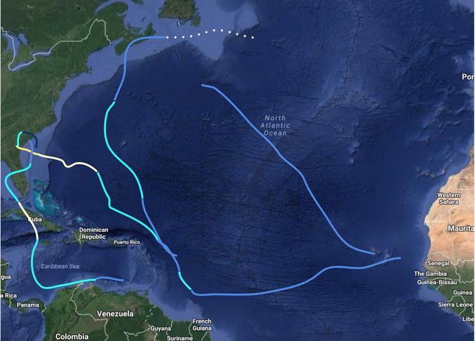 1764 Hurricane Season