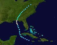 Hurricane Fiona (2016 - Track)