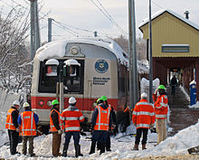 File:Crew attending to derailed Metro-North train, New Canaan, CT.jpg