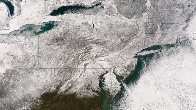 File:Snow Covered NE from Space.jpg