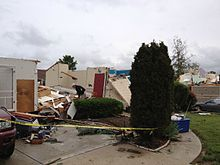 May 31, 2013 EF3 St Louis tornado damage