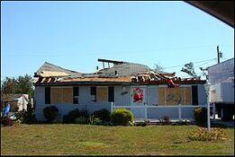 Tornado Damage Griffith