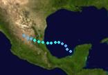 Tropical Storm Alberto (2018 - Track)