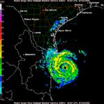 Hurricane Emily on Brownsville NEXRAD at 0307 UTC.png