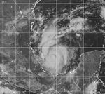 Tropical Storm Bret 1999 becoming organized.jpg
