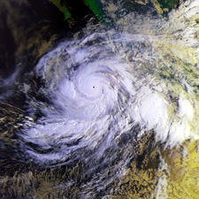 Hurricane Juliette 25 sept 2001 1407Z