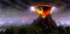 Volcanic eruption 1