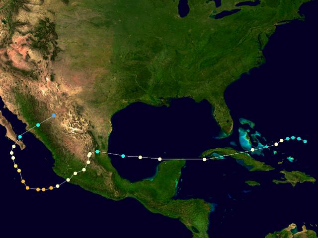 File:Hurricane Emlilea 2013 Path.png
