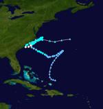 Hurricane Franklin Track (2017 - Money Hurricane).png