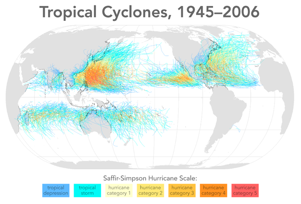 File:Tropical cyclones 1945 2006 wikicolor.png