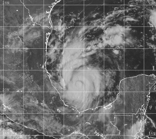 File:Tropical Storm Bret 1999 becoming organized.jpg