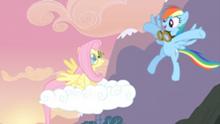 250px-Rainbow Dash congratulating Fluttershy S02E22