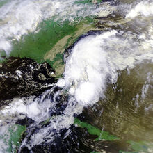 Tropical Depression One 26 june 1992 1311Z