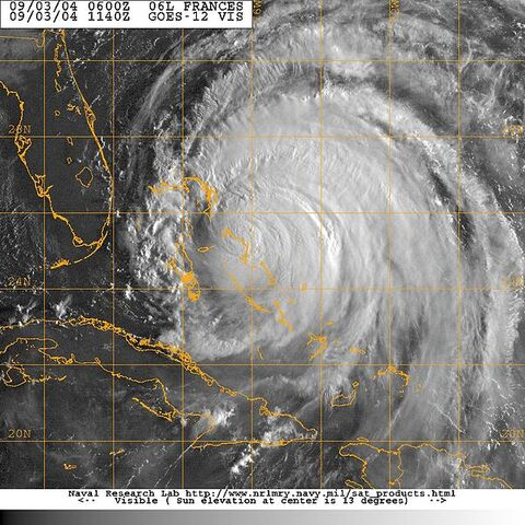 File:US Navy 040903-N-0000X-003 Satellite image taken from the GOES-12 satellite of Hurricane Frances at approximately 0740 EST.jpg