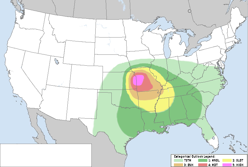 July 3, 2027 Convective Outlook