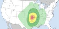 Tornado outbreak of January 9 - 10, 2018