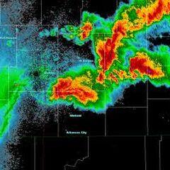 The Greensburg Storm on Radar