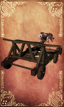 Lizafos catapult