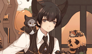 (Halloween Scout) Eva Armstrong Affection Story LE 2