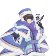 (Snowy Day Scout) Eva Armstrong GR Transparent