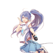 (Yuugana mujintou e youkoso) Runa Kagurazaka GR Transparent