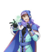 (Snowy Day Scout) Futami Akabane UR Transparent
