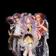 (Dakimakura) Kokoro Hanabusa GR Transparent