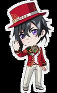 (X'mas 2016 Scout) Kuro Yakaku SD Pose