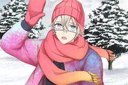 (Snowy Day Scout) Satsuki Kururugi SR 3