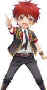 (Kiss me HERO!) Enju Hayama HN Transparent