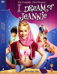 Jeannie Season 3 DVD cover