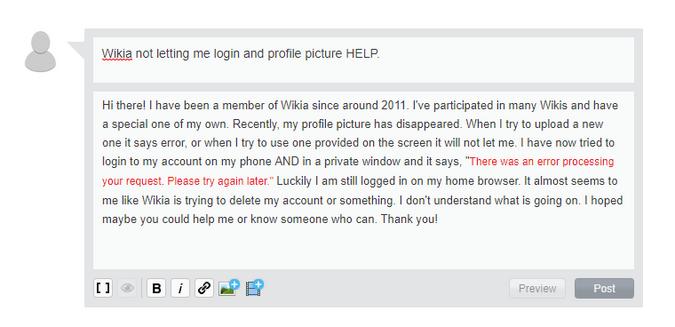 Wikia HELP