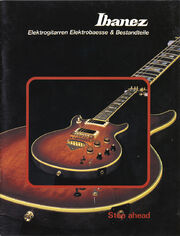 1980 Ibanez German catalog front-cover