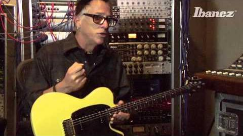 Noodles from The Offspring introduces the Ibanez NDM3 Signature Model