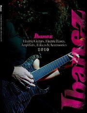 2010 EU elec guitar catalog front-cover