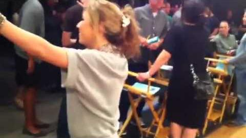 ICarly Rehearsal - iTackle Each Star )