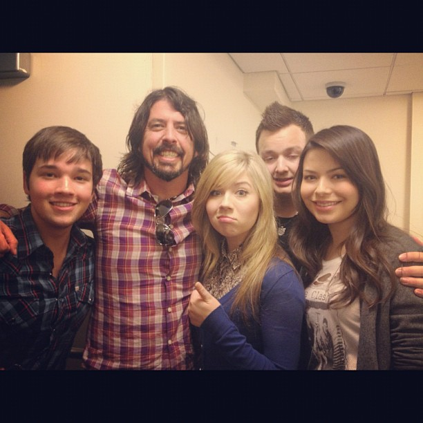 Dave Grohl Louise Post Image - Icarly-...