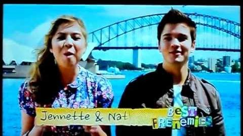 Jennette and Nathan 'Best Frenemies' - iReunite With Missy
