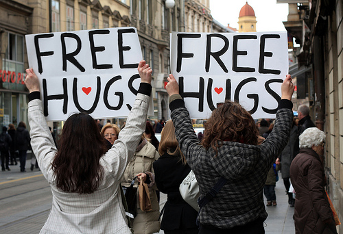 File:There is not such things as free hugs.jpg