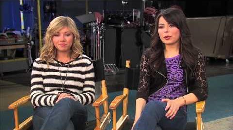 "ICarly Cast - ""iGoodbye"" Interview-0"