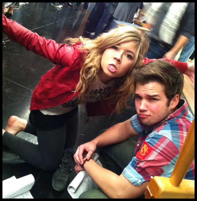 Jennette Mccurdy And Nathan Kress: Jennette-and-Nathan-nathan-kress-and-jennette